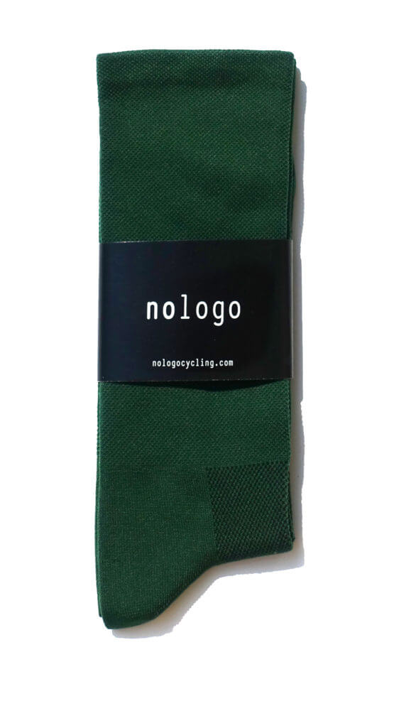 green cycling socks